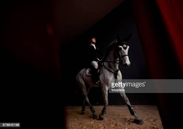 Sergio Alvarez Moya attends the Madrid Horse Week 2017 at IFEMA on November 24 2017 in Madrid Spain