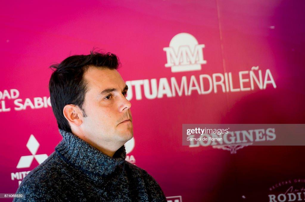 Sergio Alvarez Moya during Madrid Horse Week 2017 Presentation on November 14, 2017 in Madrid, Spain.