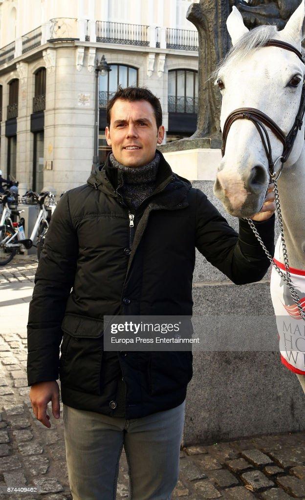 Sergio Alvarez Moya presents Madrid Horse Week 2017 on November 14, 2017 in Madrid, Spain.