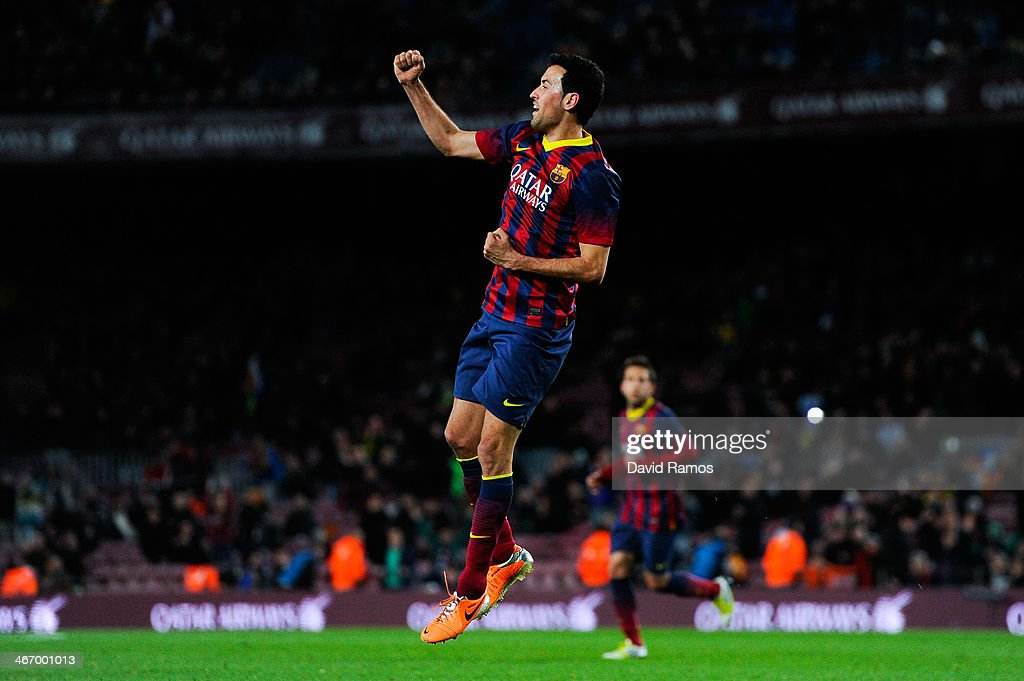 Gennaro Gattuso vs Sergio Busquets vs Javier Mascherano Sergio-busquets-of-fc-barcelona-celebrates-after-scoring-the-opening-picture-id467001013