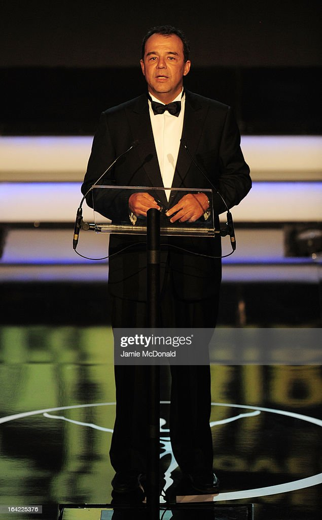 Sergio Cabral Filho, Governor of Rio de Janeiro during the awards show for the 2013 Laureus World Sports Awards at the Theatro Municipal Do Rio de Janeiro on March 11, 2013 in Rio de Janeiro, Brazil.