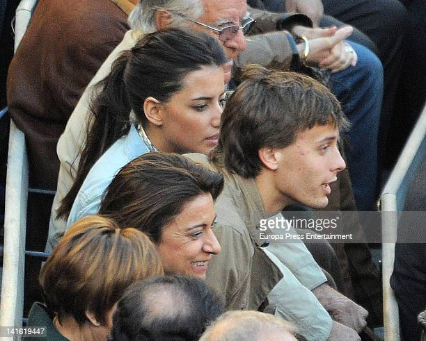 Sergio Canales attends Fallas Bullfighting Festival on March 19 2012 in Valencia Spain