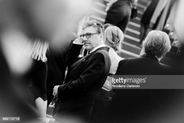 Sergio Castellitto attends the 'Based On A True Story' screening during the 70th annual Cannes Film Festival at Palais des Festivals on May 27 2017...
