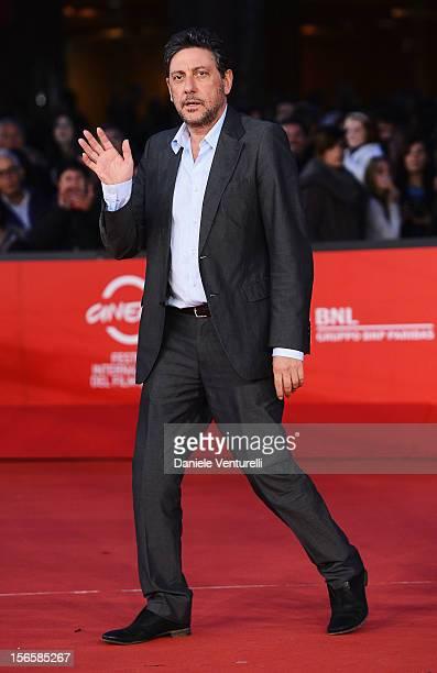 Sergio Castellitto attends the 'Giuseppe Tornatore Ogni Film Un'Opera Prima' Premiere during the 7th Rome Film Festival at the Auditorium Parco Della...