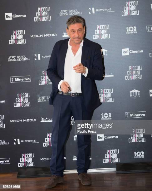 Sergio Castellitto attends the Photocall of 'Piccoli Crimini Coniugali'