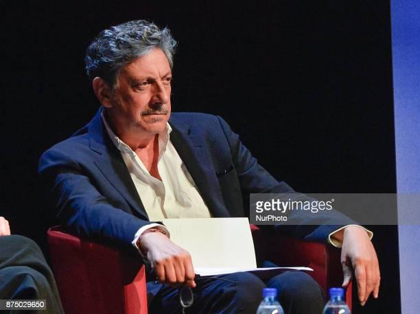 Sergio Castellitto during presentation of the book 'Quando' by Walter Veltroni at Auditorium Rome on november 16 2017