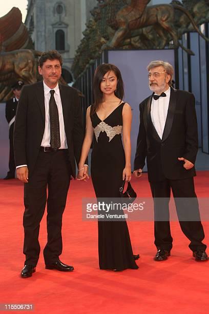 Sergio Castellitto Tai Ling and Gianni Amelio director