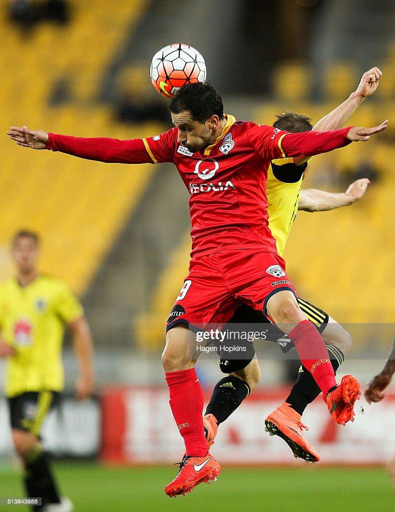 A-League Rd 22 - Wellington v Adelaide
