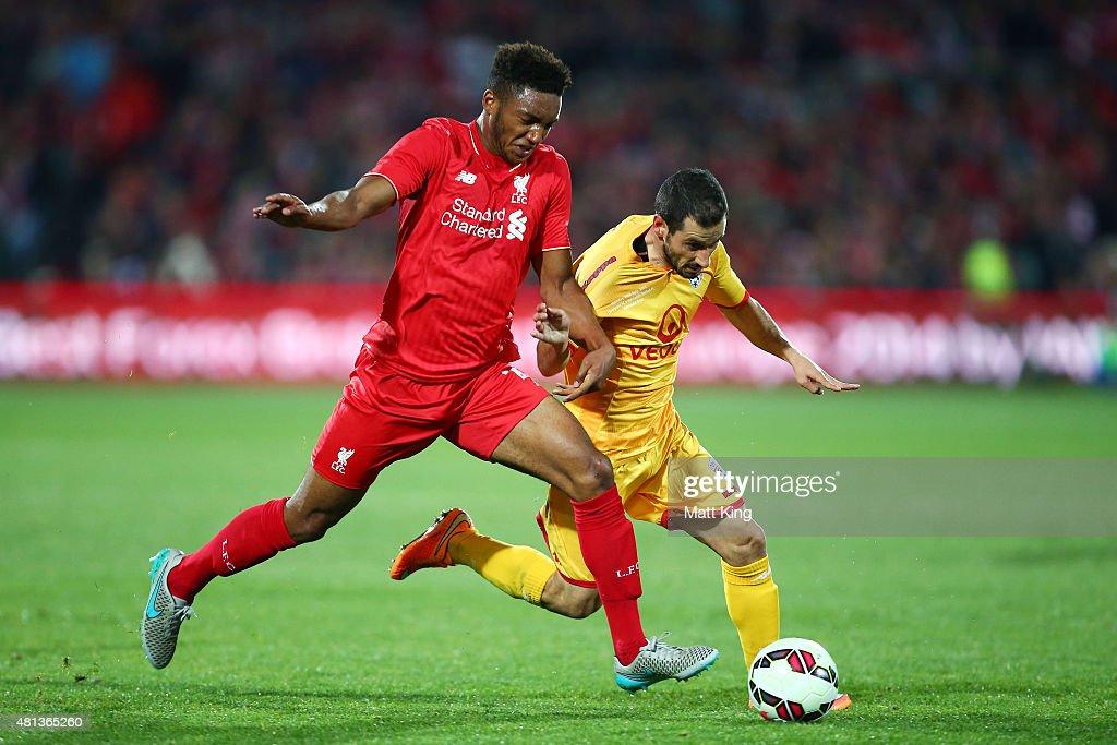 Adelaide United v Liverpool FC