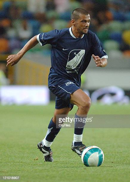 Sergio Conceicao during the 2007 All Stars Lisbon game at Alvalade XXI Stadium Lisbon Portugal on June 9 2007 Some of the best football players of...