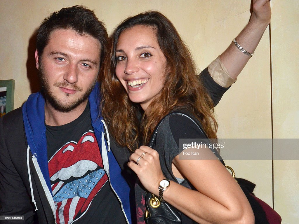 Sergio Do Vale and Lise Schreiber attend the 'Speakeasy' Party At The Lefty Bar Restaurant on May 6, 2013 in Paris, France.