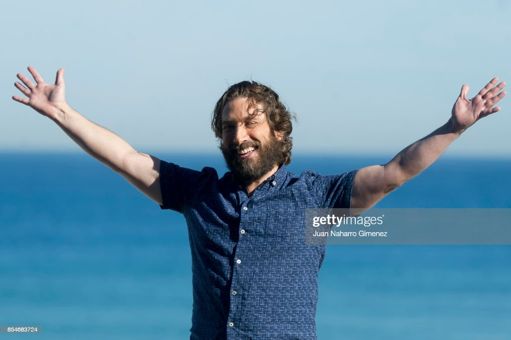 Sergio G. Sanhez attends 'Marrowbone' photocall during 65th San Sebastian Film Festival on September 27, 2017 in San Sebastian, Spain.