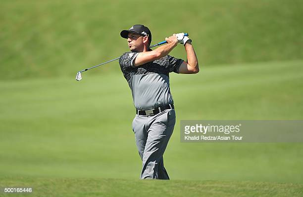 Sergio Garcia of Spain in action during round four of the Ho Tram Open at The Bluffs Ho Tram Strip on December 6 2015 in Ho Chi Minh City Vietnam