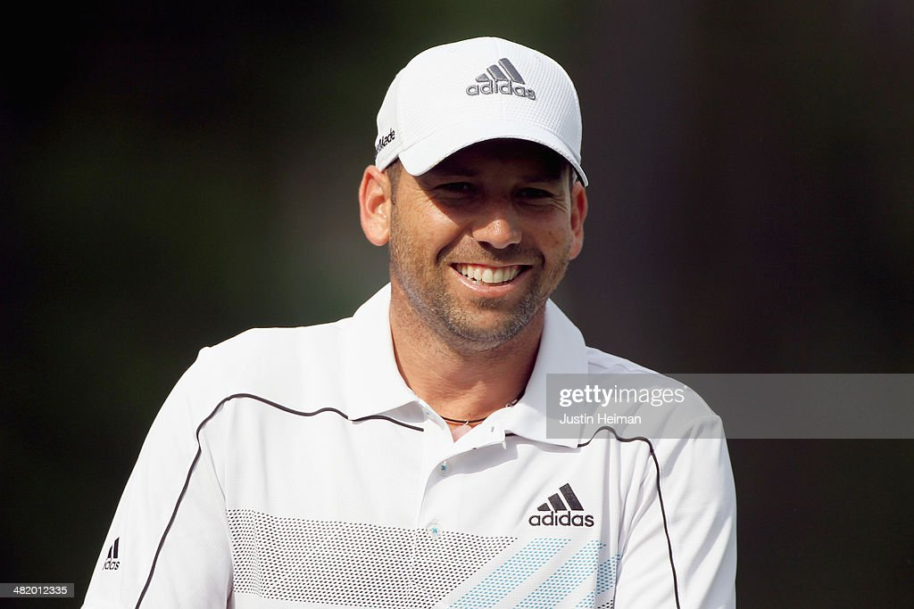 Sergio Garcia of Spain looks on during the pro-am prior to the start of the Shell Houston Open at the Golf Club of Houston on April 2, 2014 in Humble, Texas.
