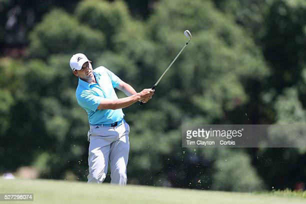 Sergio Garcia Spain in action during the third round of the Travelers Championship at the TPC River Highlands Cromwell Connecticut USA 21st June 2014...