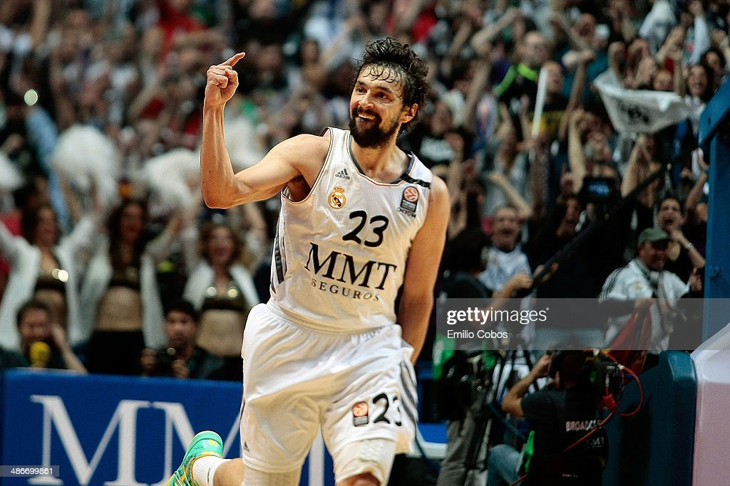 Real Madrid v Olympiacos Piraeus - Turkish Airlines Euroleague Play Off