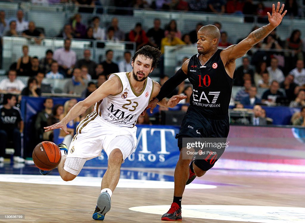 Real madrid v ea7 emporio armani milan turkish airlines euroleague getty images - Canomar madrid ...