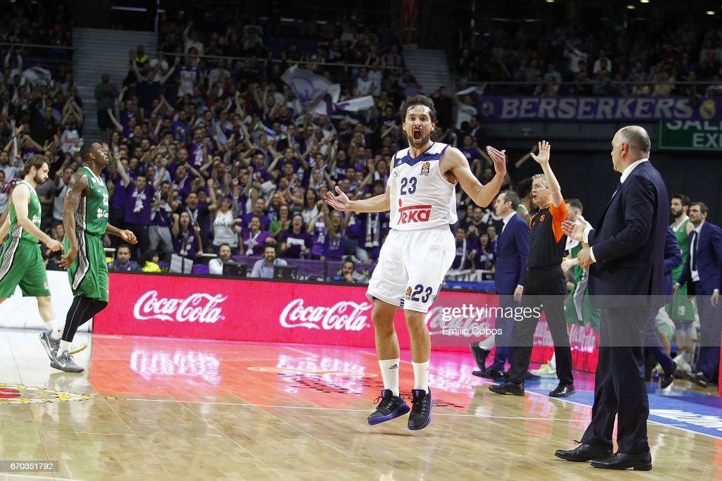 Real Madrid v Darussafaka Dogus Istanbul - Turkish Airlines Euroleague Play Off Leg One