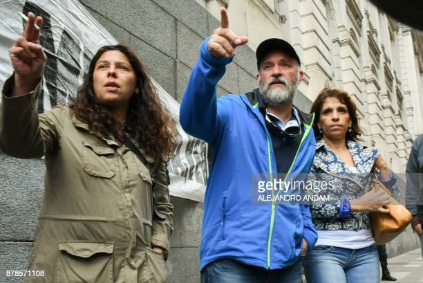 Sergio Maldonado brother of Santiago Maldonado disappeared on August 1st during a Mapuche protest in Chubut province and found dead 79 days after...