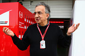 Sergio Marchionne CEO of FIAT and Chairman of Ferrari ahead of the Formula One Grand Prix of China at Shanghai International Circuit on April 17 2016...