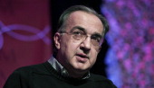 Sergio Marchionne Chairman and CEO Chrysler Group LLC and CEO Fiat SpA speaks at the Inforum 11th Annual Auto Show Breakfast at the Detroit Mariott...