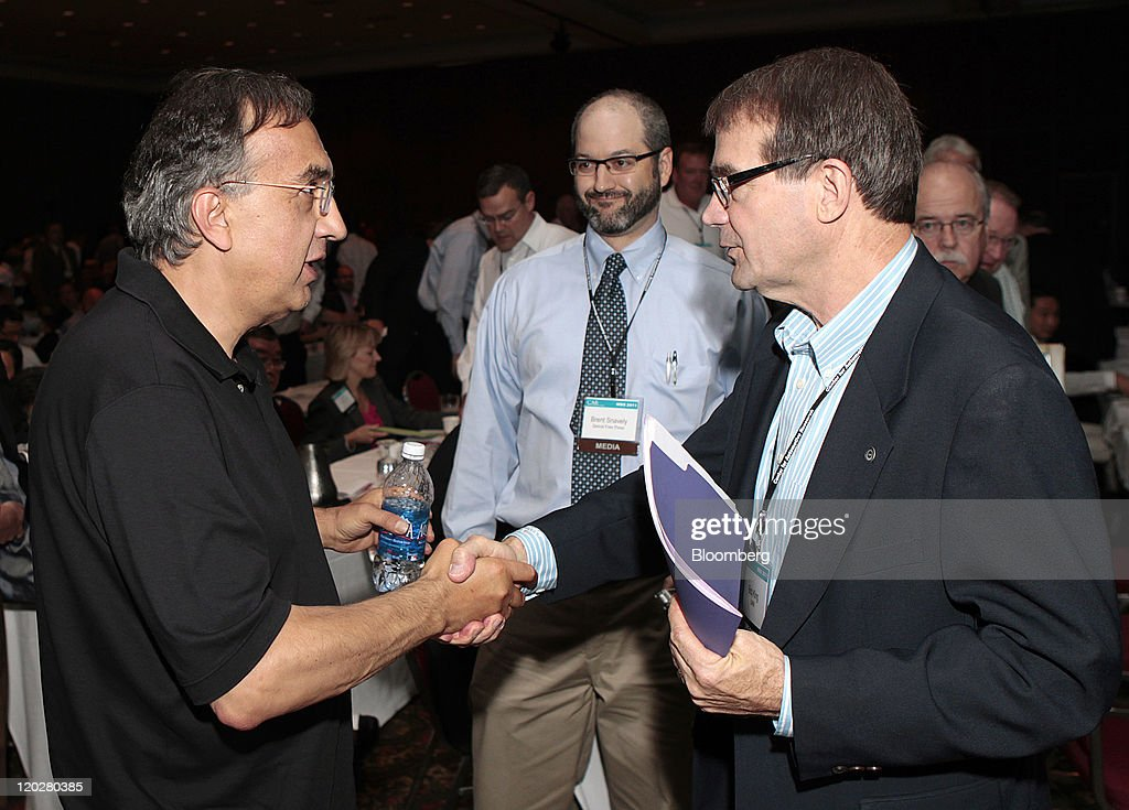 Sergio marchionne chief executive officer of chrysler group llc and