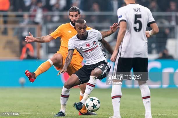 Sergio Oliveira of FC Porto Anderson Souza Conceicao of Besiktas JK during the UEFA Champions League group G match between Besiktas JK and FC Porto...