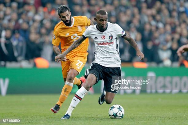 Sergio Oliveira of FC Porto Anderson Talisca of Besiktas during the UEFA Champions League match between Besiktas v FC Porto at the Vodafone Park on...