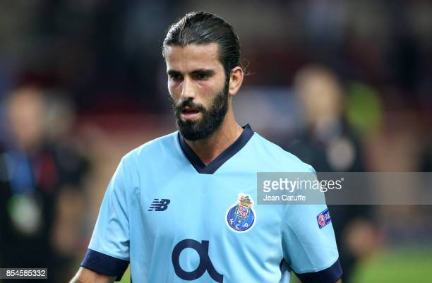 Sergio Oliveira of FC Porto during the UEFA Champions League group G match between AS Monaco and FC Porto at Stade Louis II on September 26 2017 in...