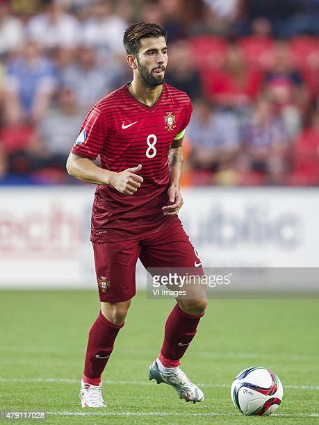 Sergio Oliveira of Portugal during the UEFA European Under21 Championship final match between Sweden and Portugal on June 30 2015 at the Eden stadium...