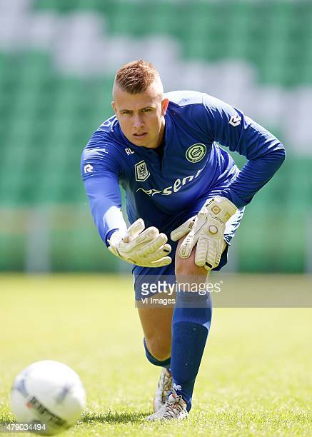 Sergio Padt during the team presentation of FC Groningen on June 29 2015 at the Euroborg in Groningen The Netherlands