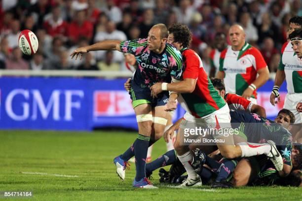 Sergio Parisse Biarritz / Stade Francais 5eme journee de Top14 Stade Aguilera Biarritz France