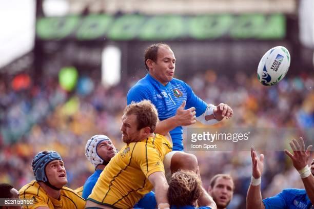 Sergio PARISSE Italie / Australie Coupe du Monde de Rugby 2011