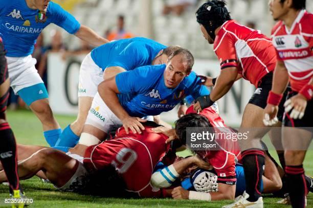 Sergio PARISSE Italie / JApon match de preparation Cesena
