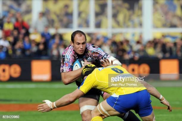Sergio PARISSE Clermont Auvergne / Stade Francais 11eme journee de Top14