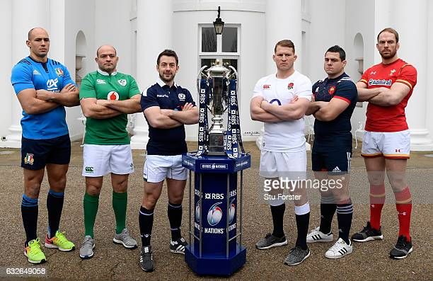 Sergio Parisse Captain of Italy Rory Best Captain of Ireland Greig Laidlaw Captain of Scotland Dylan Hartley Captain of England Guilhem Guirado...