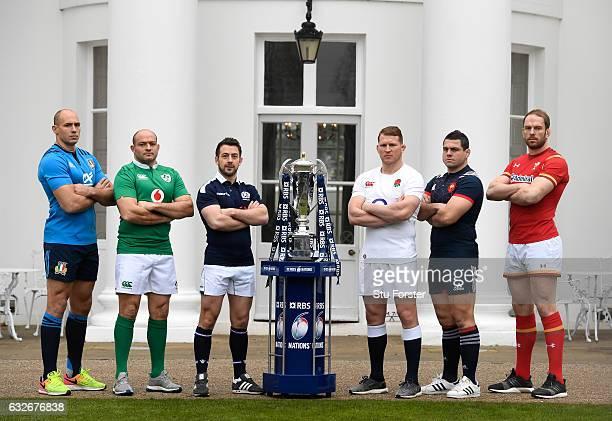 Sergio Parisse Captain of Italy Rory Best Captain of Ireland Greig Laidlaw Captain of Scotland Dylan Hartley Captain of England Guilhem Guirado...