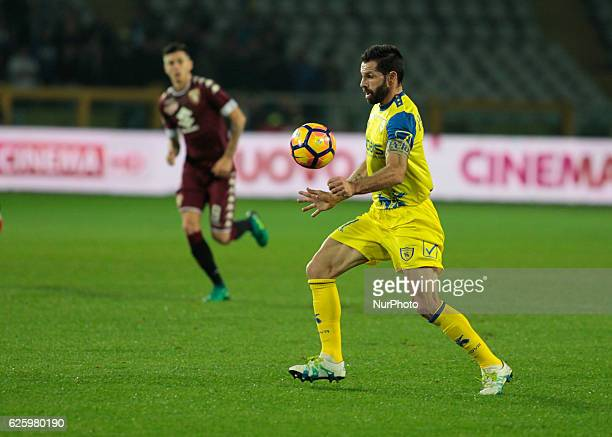 Sergio Pellissier during Serie A match between Torino v Chievo Verona in Turin on November 26 2016