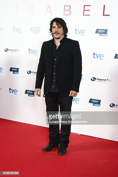 Sergio Peris Mencheta attends 'Isabel' end of season 3 premiere photocall on November 26 2014 in Madrid Spain
