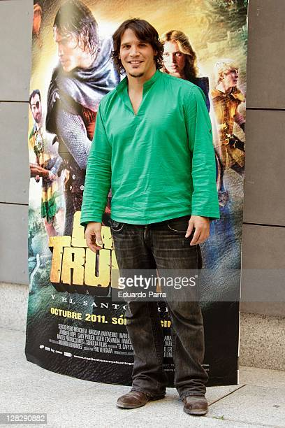 Sergio PerisMencheta attends 'Capitan Trueno' photocall at Cinema Academy on October 6 2011 in Madrid Spain