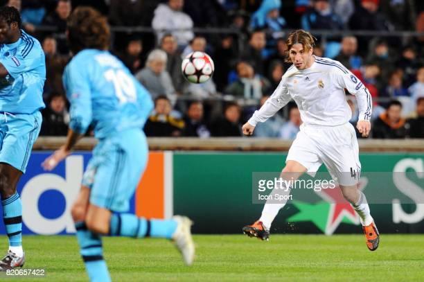 Sergio RAMOS Marseille / Real Madrid Champions League Stade Velodrome Marseille
