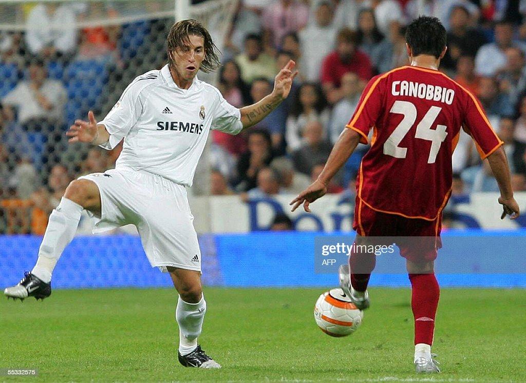 Debut en liga de Sergio Ramos. Temporada 2005/2006 en la derrota 3-2 ante el Celta