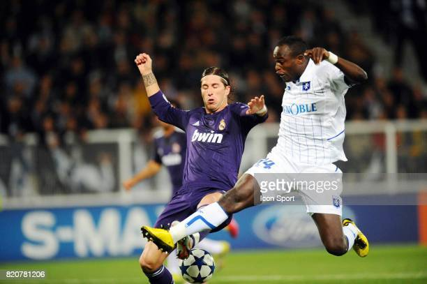 Sergio RAMOS / Dennis OLIECH Auxerre / Real Madrid Champions League