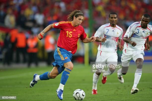 Sergio RAMOS Espagne / France 1/8 de Finale Coupe du Monde 2006