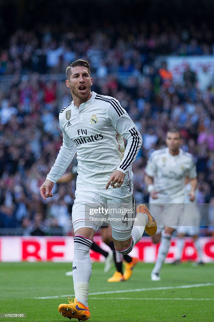 Real madrid v malaga la liga getty images - Sergio madrid ...