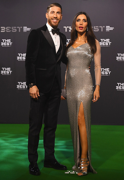 sergio-ramos-of-spain-and-real-madrid-and-his-wife-pilar-rubio-pose-picture-id631333078