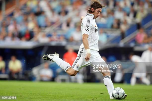 Sergio RAMOS Real Madrid / Bate Borisov Champions League 200809 Group D 1er journΘe