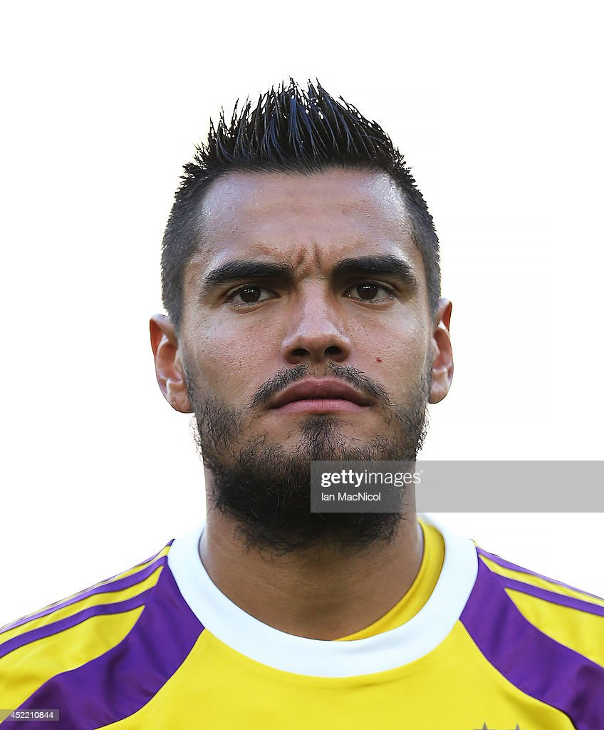 Sergio Romero the goalkeeper of Argentina looks on during the anthems during the 2014 World Cup final match between Germany and Argentina at The Maracana Stadium on July 13, 2014 in Rio de Janeiro, Brazil.