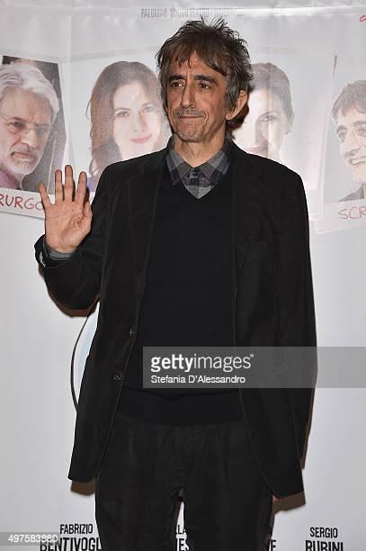 Sergio Rubini attends a photocall for 'Dobbiamo Parlare' on November 17 2015 in Milan Italy