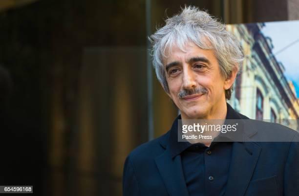 Sergio Rubini attends the photocall of 'Non è un paese per giovani'